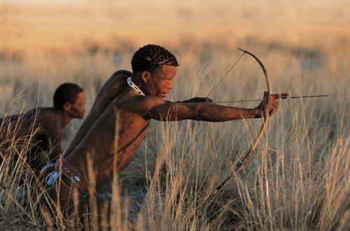 The Sun. A Bushman Legend